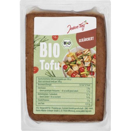 Jeden Tag Bio Tofu geräuchert