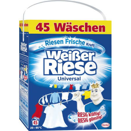 Weisser Riese Riesenfrisch 45 Waschgänge