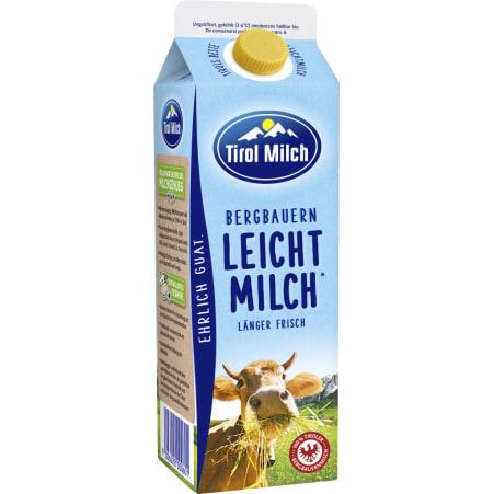 Tirol Milch Bergbauern Leichte Milch länger frisch 1,5%