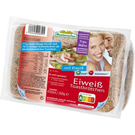 mestemacher Eiweiß-Toastbrötchen