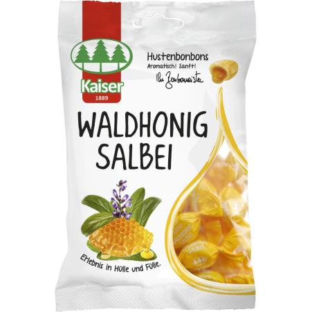 Bonbonmeister Kaiser Hustenbonbons Waldhonig Salbei Beutel
