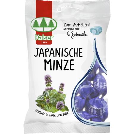 Bonbonmeister Kaiser Hustenbonbons Japanische Minze Beutel