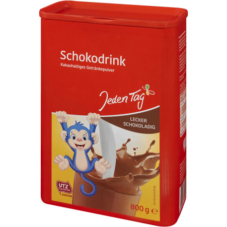 Jeden Tag Schokodrink Kakaopulver