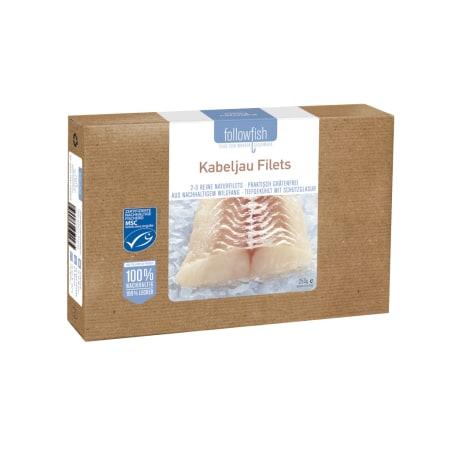 followfish Kabeljau Filet MSC