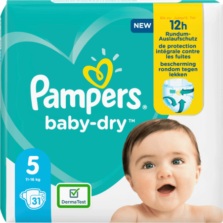 Pampers baby-dry Gr. 5