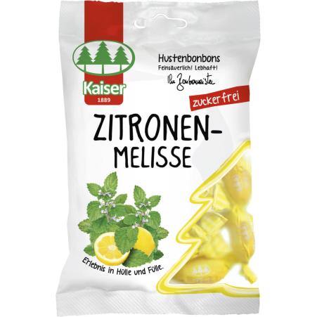 Bonbonmeister Kaiser Hustenbonbons Zitronenmelisse ohne Zucker