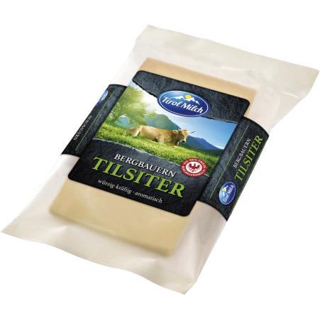 Tirol Milch Bergbauern Tilsiter würzig-kräftig aromatisch 45%