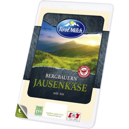 Tirol Milch Bergbauern Jausenkäse mild-fein Scheiben