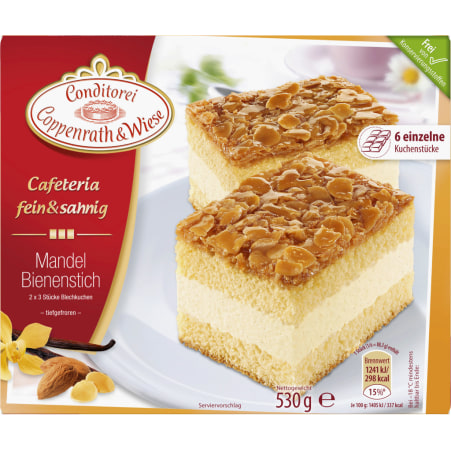 Conditorei Coppenrath & Wiese Cafeteria fein&sahnig Mandelbienenstich