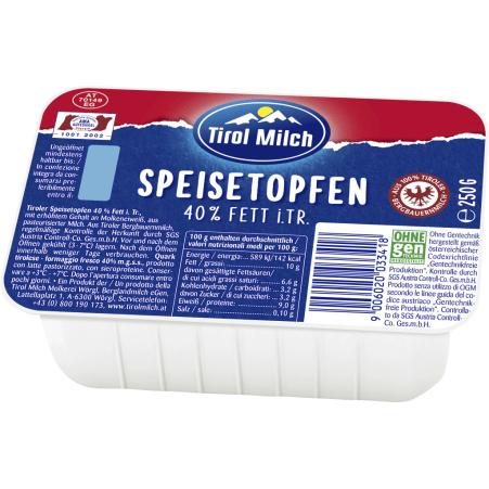 Tirol Milch Speisetopfen 40%