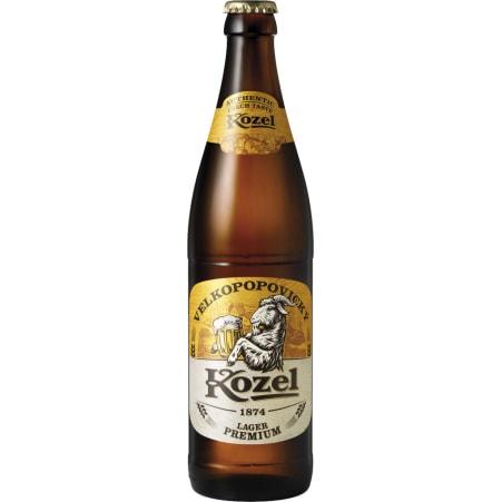 Kozel  Premium Lager 0,5 Liter Mehrweg-Flasche