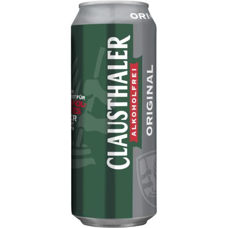 Clausthaler Original alkoholfrei 0,5 Liter Dose