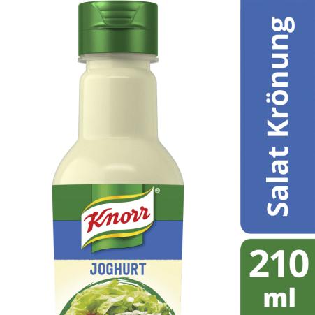 Knorr Salatkrönung Joghurt mit Limette