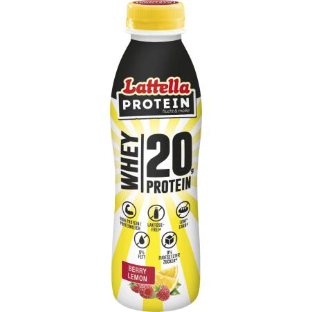 Lattella Protein Berry Lemon