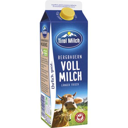 Tirol Milch Bergbauern Vollmilch 3,5% 1,0 Liter
