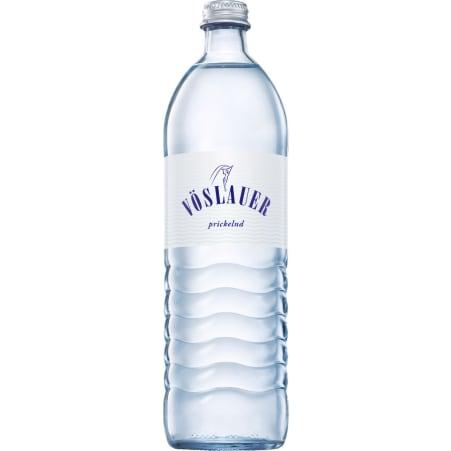 Vöslauer Mineralwasser prickelnd Kiste 12x 0,75 Liter Mehrweg-Flasche