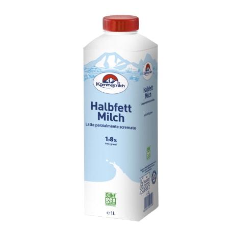 Kärntnermilch Bio Wiesenmilch Halbfettmilch länger frisch 1,8%