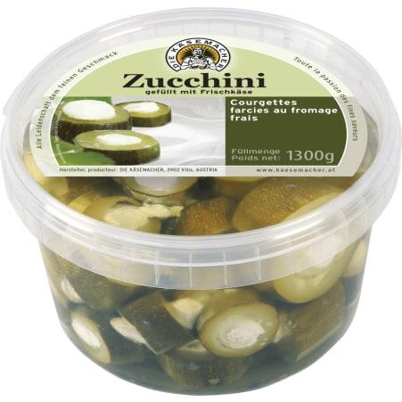 Die Käsemacher Zucchini mit Frischkäse