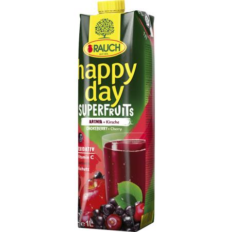 Rauch Happy Day Superfruits Aronia 1,0 Liter