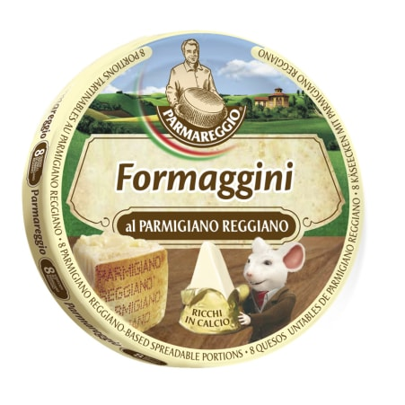 Parmareggio Formaggini Parmigiano Reggiano Schmelzkäse