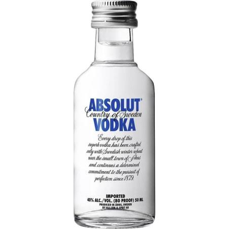 ABSOLUT Vodka 40% 0,05 Liter