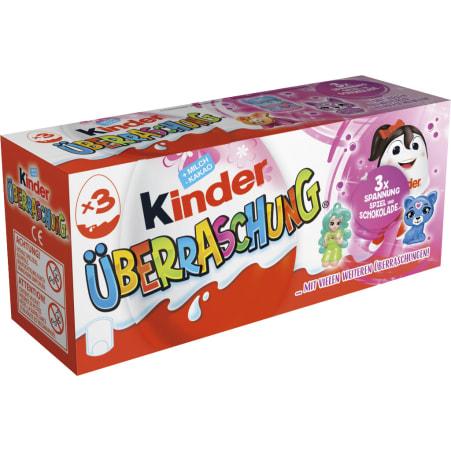 Kinder Kinder Überraschungseier Mädchen 3er-Packung