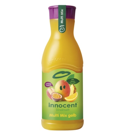 innocent Direktsaft Gelber Multi Mix 0,9 Liter