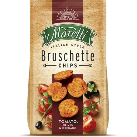 Maretti Chips Bruschette Tomato Olives & Oregano