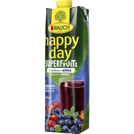 Rauch Happy Day Heidelbeere-Acerola Superfruit 1,0 Liter