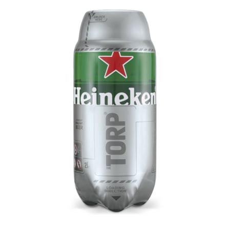 Heineken Torp Fass 2,0 Liter