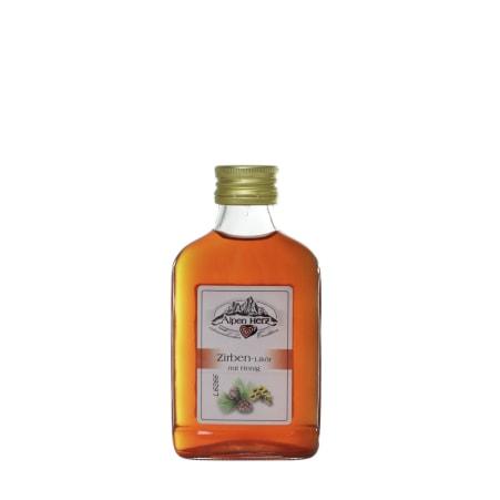 Alpenherz Zirben-Likör mit Honig 21% 0,1 Liter