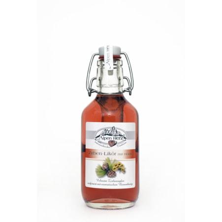 Alpenherz Zirben-Likör mit Honig 21% 0,2 Liter