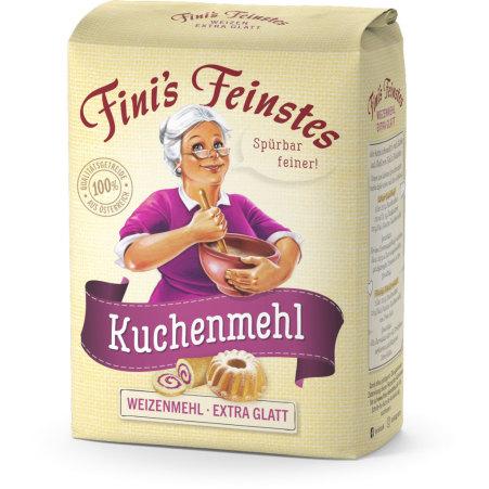 Fini´s Feinstes Kuchenmehl extra glatt Type 480