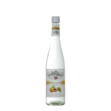 Alpenherz Marillen-Schnaps mit Honig 33%  0,7 Liter