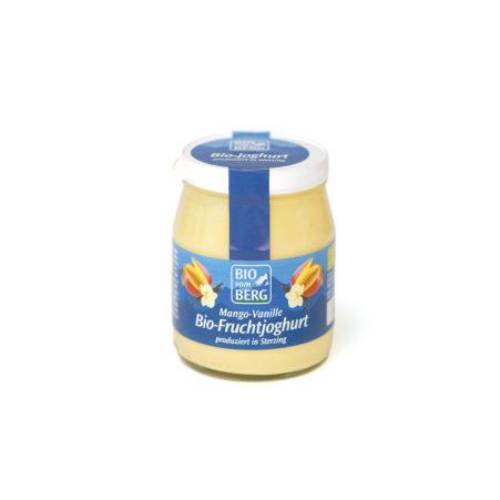BIO vom BERG Bio Joghurt Mango-Vanille
