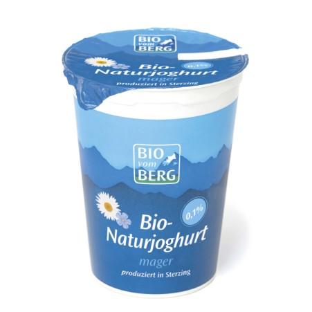 BIO vom BERG Bio Naturjoghurt mager 0,1%