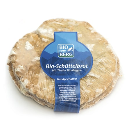 BIO vom BERG Bio Schüttelbrot handgemacht
