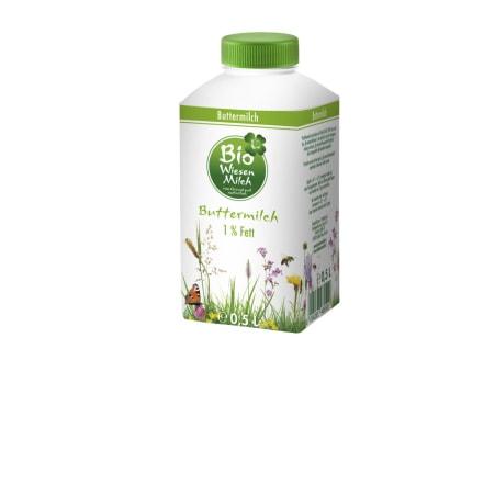 Kärntnermilch Bio Wiesenmilch Buttermilch 1%