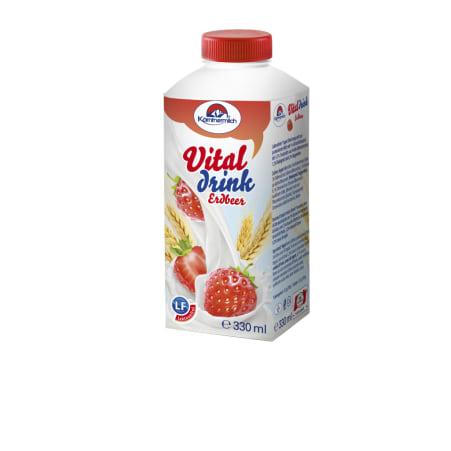 Kärntnermilch Vitaldrink Erdbeer