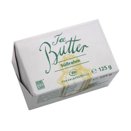Vorarlberg Milch eGen Teebutter Süßrahm 125 gr