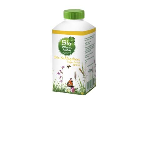 Natürlich für uns Bio Wiesenmilch Schlagobers länger frisch 32%