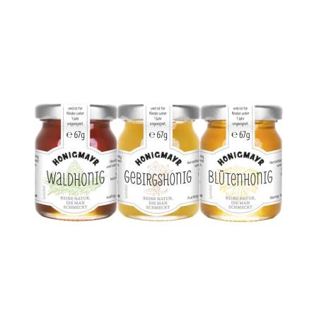 Honigmayr Fine Selection Blütenhonig 3er-Packung