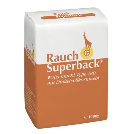 Rauch Mehl Superbackmehl Weizenmehl mit Dinkel