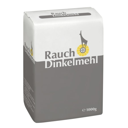 Rauch Mehl Dinkelmehl glatt Type 700