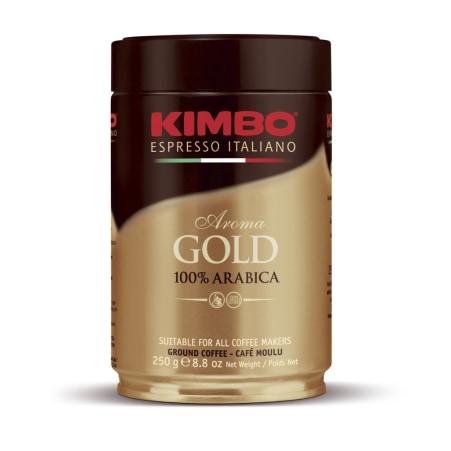 Kimbo 100% Arabica gemahlen