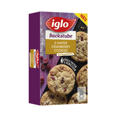Iglo Hafer Cranberry Cookies