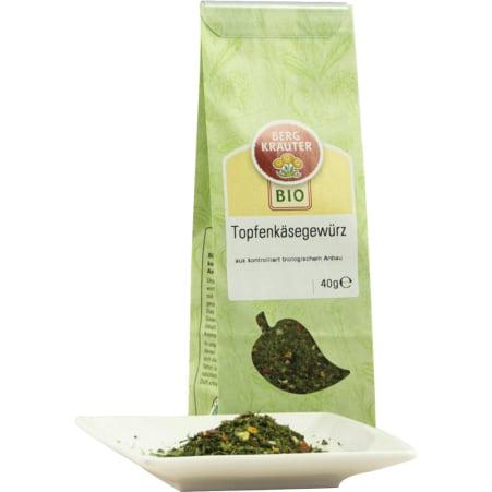 Bergkräuter Bio Topfen-Käsegewürz