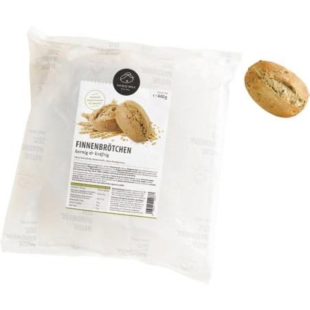 Bäckerei Therese Mölk Finnenbrötchen mit Sonnenblumenkerne 8er-Packung