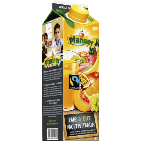 Pfanner Multivitamin Fairtrade 1,0 Liter
