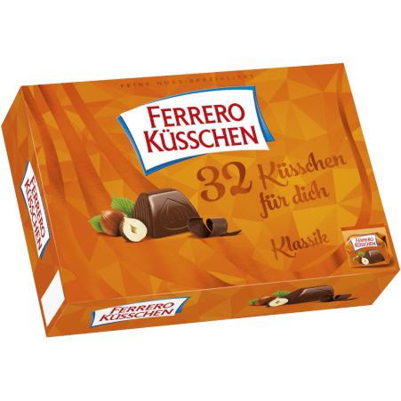 Ferrero Küsschen Küsschen 32er-Packung